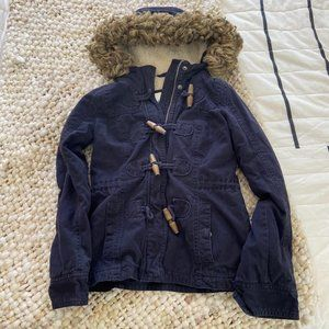 Abercrombie Kids Hooded Coat Lined Childrens M